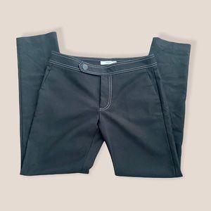 Like New Mango Black Buttoned Pants Size:4